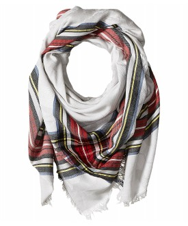 Echo Design Oversize Plaid Square Scarf