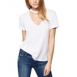 Joanna Linen Choker T-Shirt