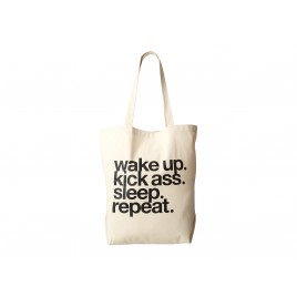 Wake Up. Kick Ass. Tote