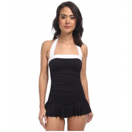 Skirted Mio Slimming Fit One-Piece